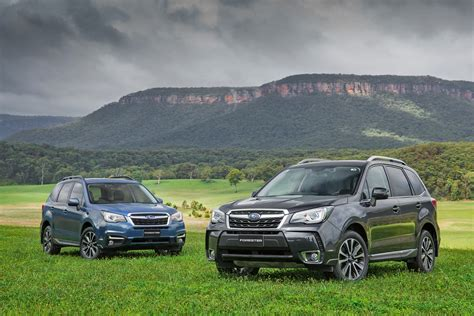 subaru forester car 2016 subaru forester pricing and specifications photos