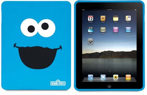 Elmo and Cookie Monster iPhone and iPad Cases: Cuteness
