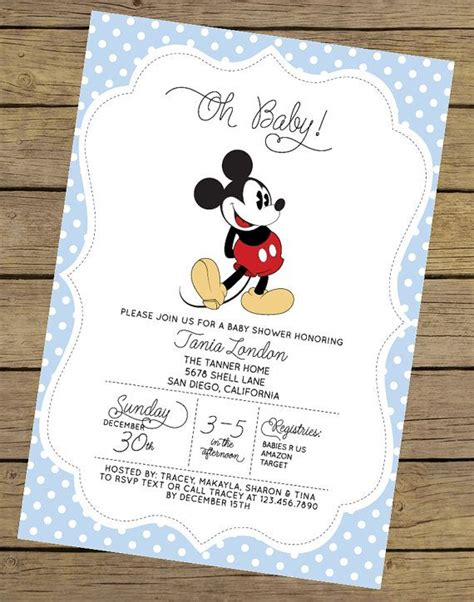 Printable Disney Baby Shower Invitations disney baby showers ideas babies on free printable