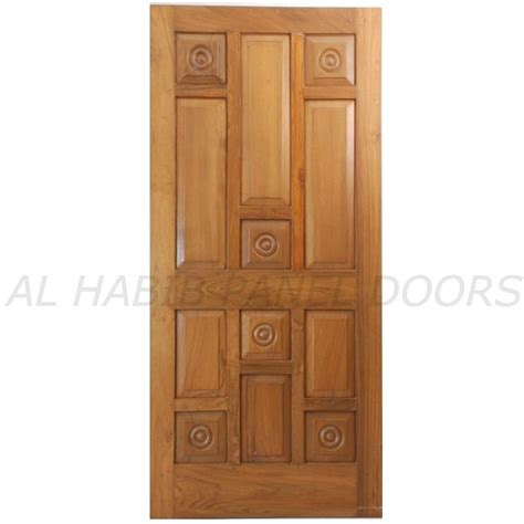 Door Panel by Single Solid Wood Door Hpd102 Solid Wood Doors Al