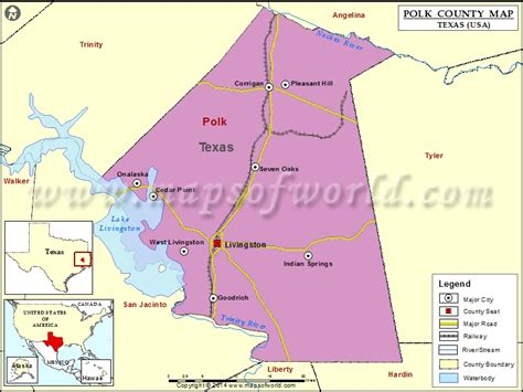 map of polk county texas polk county map map of polk county texas