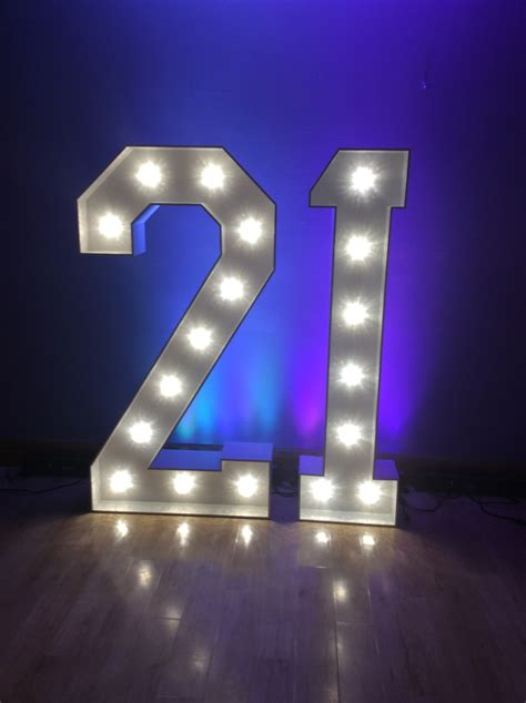 Light Up Letters Giant Light Up Letters Hire Light Up