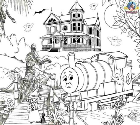 free james the train coloring pages