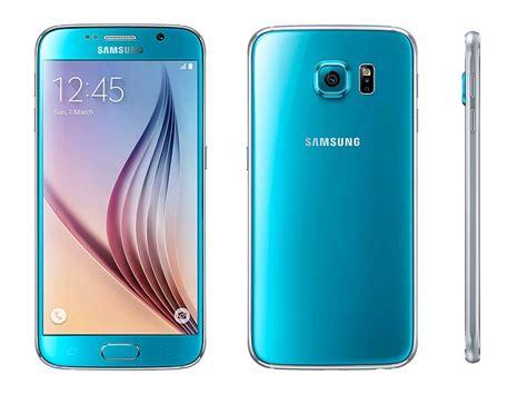 Samsung S6 Blue Topaz Samsung Galaxy S6 Dual Sim Sm G9200 Unlocked Lte 32gb