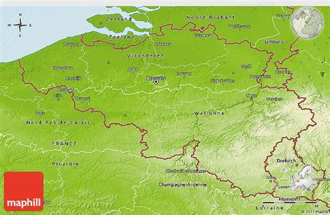 belgium geographical map physical 3d map of belgium