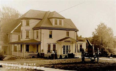 Haddonfield Post Office by West Jersey History Project Picture Postcard Images Of