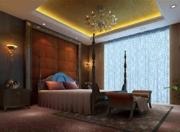 luxury bedroom scene european luxury bedroom scene model 3d model download free