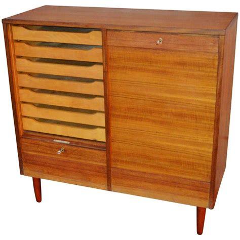 flat file cabinet wood manicinthecity
