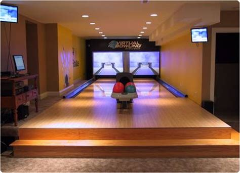 basement bowling alley search home