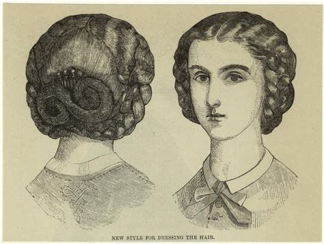 1860s hairstyles fashion in the 1860s