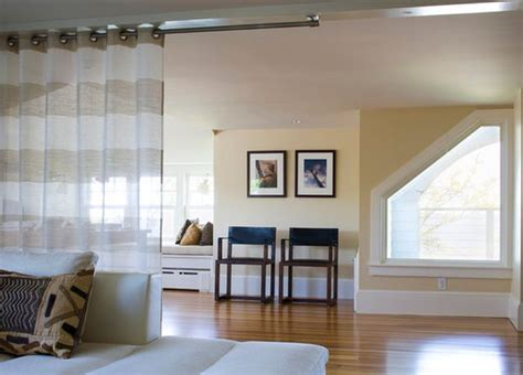 curtains to divide a room how to divide a large living room