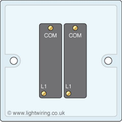 2 1 way light switch light wiring
