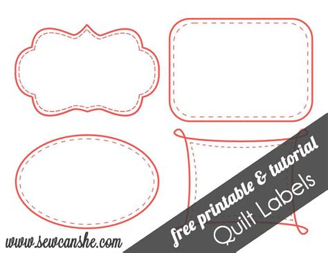 Free Quilt Labels by Free Printable Patterns For Quilt Labels