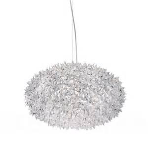 kartell chandelier kartell bloom pendant l medium sized spherical