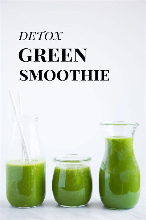 Green Smoothie Detox Coupon by Detox Green Smoothie Recipe No Matter What Smoothie