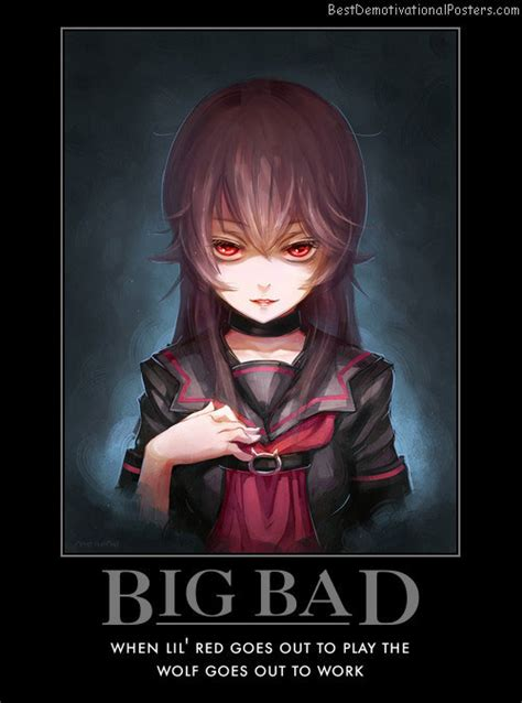 bad bid big bad demotivational poster
