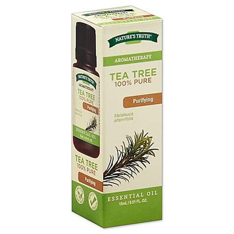 nature s 174 aromatherapy 15ml tea tree essential bed bath beyond