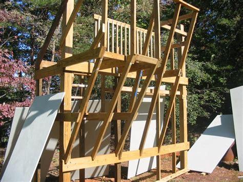 backyard climbing wall make