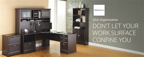 magellan performance collection l desk realspace magellan performance at office depot