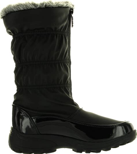 totes waterproof womens boots totes womens winter waterproof snow boots ebay