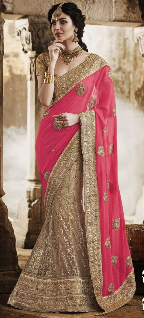 8939 Aysel Ethnic Blouse usd 167 54 pink faux georgette wedding lehenga saree 47367 wedding lehenga saree