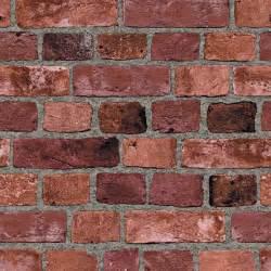 Surface illusions red brick vinyl wallpaper