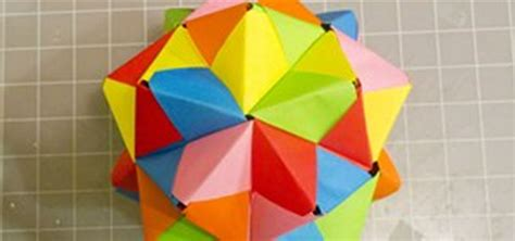 Modular Origami Models - modular origami how to make a cube octahedron