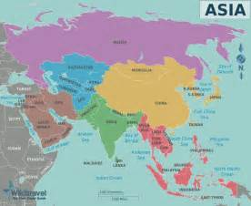 Asia On World Map by Visit Free Maps Of The World At A Glance The Simple List