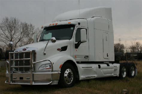 peterbilt  bumper heavy duty semi truck bumper  ali arc  post deer protection semi
