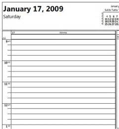 15 Minute Calendar Template by How To Print An Outlook 2007 Calendar With 15 Minute