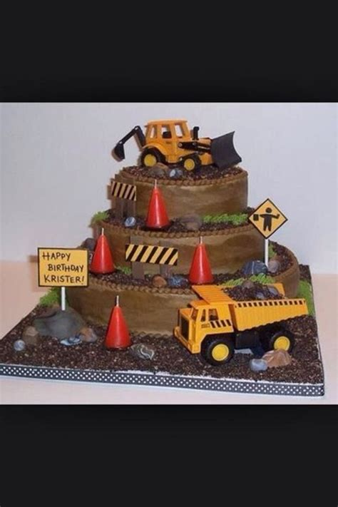 tonka truck birthday cake kids birthday ideas truck