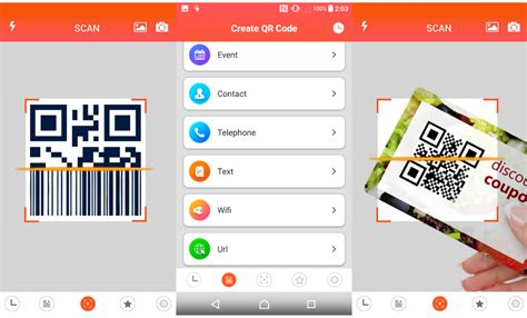 best qr scanner android 5 best qr code reader apps for android 171 3nions
