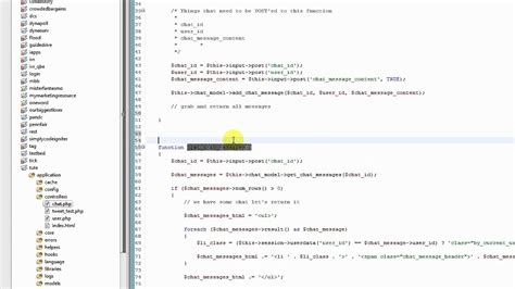 tutorial codeigniter jquery ajax part 4 codeigniter tutorial creating a web chat app