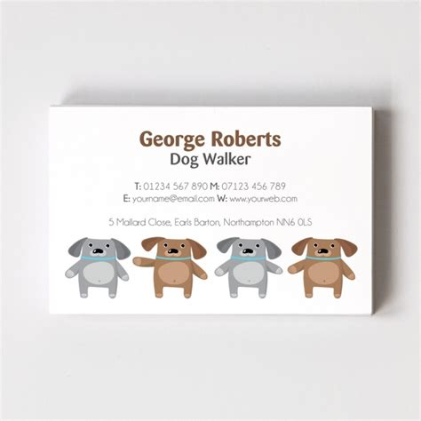 Walking Business Cards