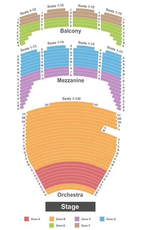 tulsa pac seating diagram tulsa performing arts center chapman luxury