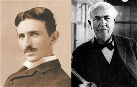 Nikola Tesla Edison Edison Versus Nikola Tesla Who Is More Productive