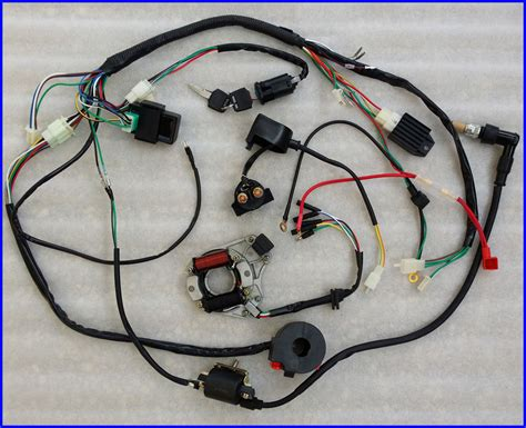 Generic Gx160 Switch Saklar Engine 50 70 90 110cc wire harness wiring cdi assembly atv
