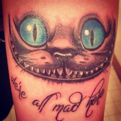 tattoo cat alice wonderland 30 cool alice in wonderland tattoos