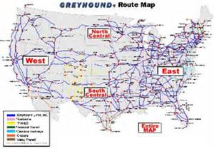 greyhound map california greyhound route map my