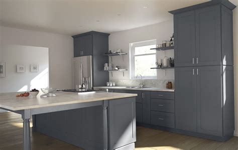 grey shaker kitchen cabinets home design ideas