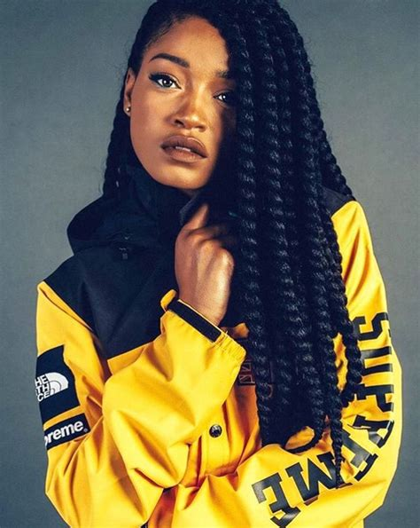 keke braids style big braids rbk pinterest big braids black hair and