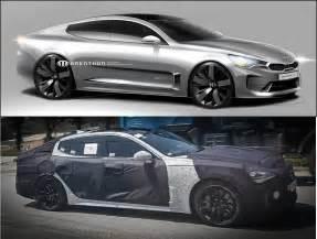 Kia Genesis Coupe Kia Stinger Rwd Sports Saloon Coming Next Year Page 3