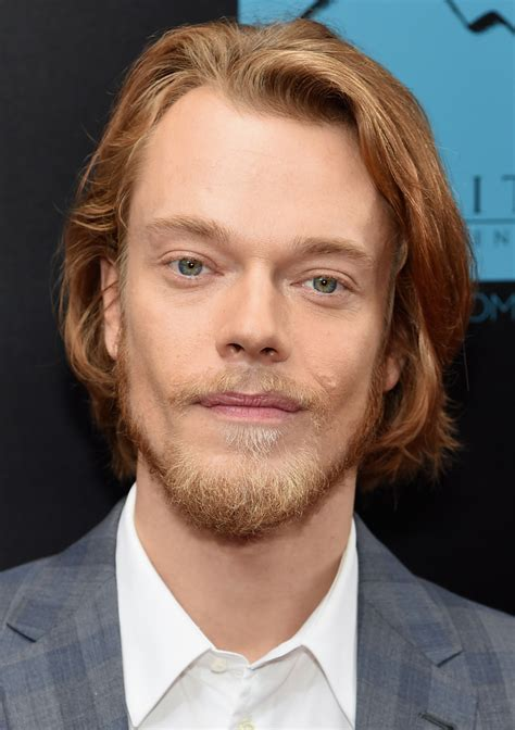 Allen Alfie by Alfie Allen Wears Louis Vuitton To Wick Premiere
