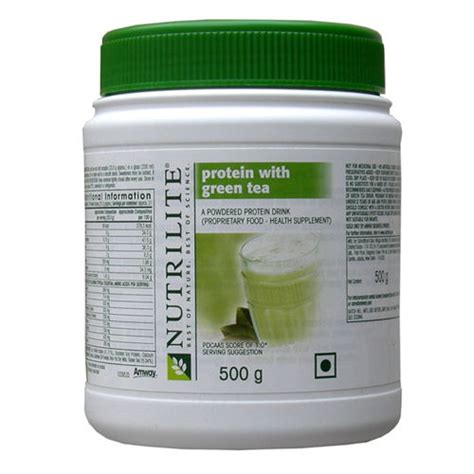 Whey Protein Amway Amway Protein With Green Tea India Proteinsstore