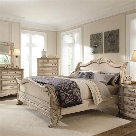 master bedroom sets king empire ii king sleigh bed designing the dream