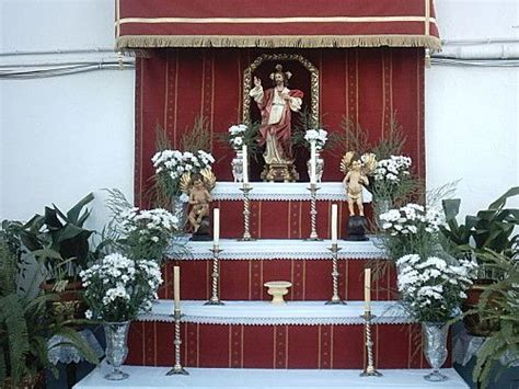 Corpus Christi Altar en Honor al Sagrado de Jesus.   Altar