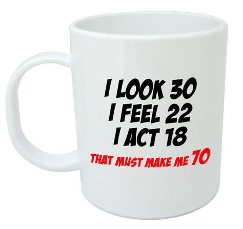 christmas gifts lady 70 yrs old makes me 70 mug 70th birthday gifts presents for gift ideas ebay