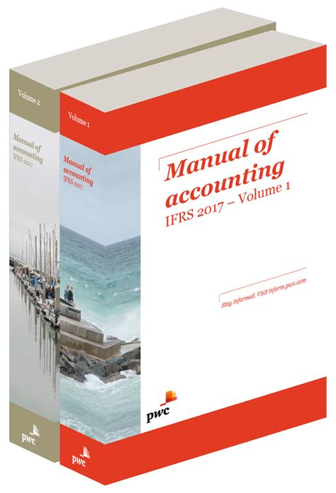 ifrs guidebook 2018 edition books manual of accounting ifrs pwc