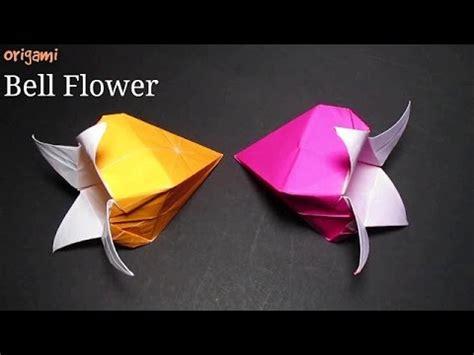 Origami Bell Flower - bell flower easy origami bell flower for