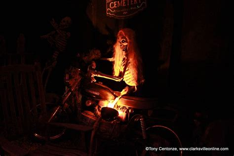 haunted houses clarksville tn clarksville s bikers who care hosts 15th annual bikers who scare haunted house